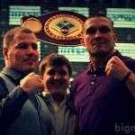 Усик – Князев: Видео дуэли взглядов