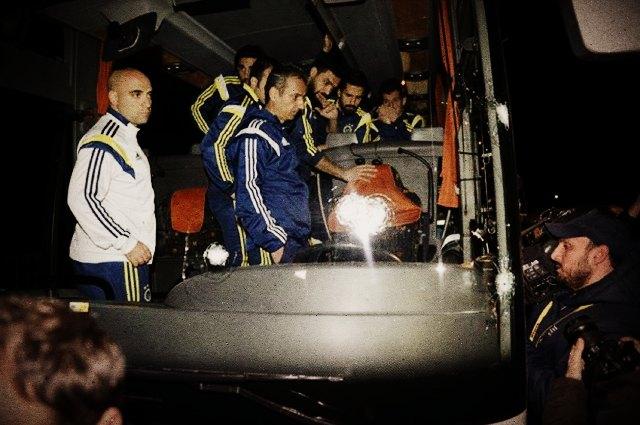 Чемпионат Турции приостановили из-за обстрела автобуса с футболистами