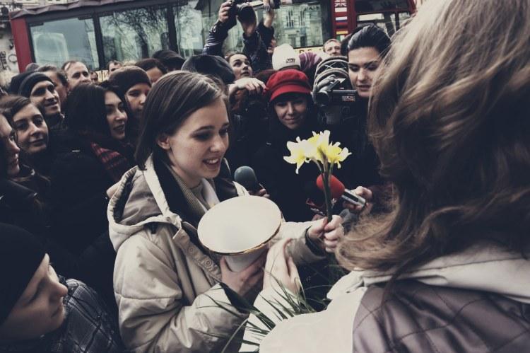 Во Львове встретили шахматную королеву Музычук (ФОТО)