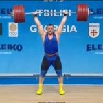 Олег Прошак стал чемпионом Европы по тяжелой атлетике