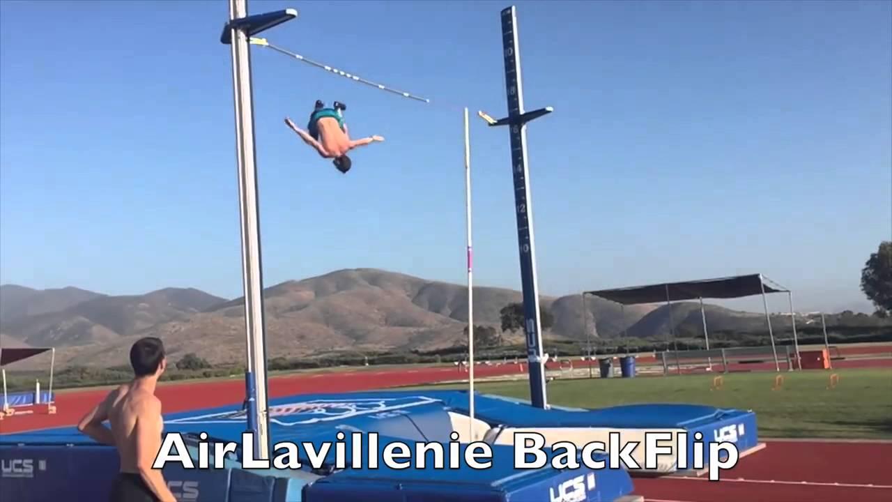 Побивший рекорд Бубки прыгун сделал сальто на пятиметровой высоте (видео)