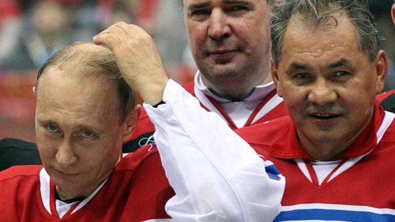 Після розгрому збірної Путін вийшов на лід: виглядає жахливо (ФОТО)