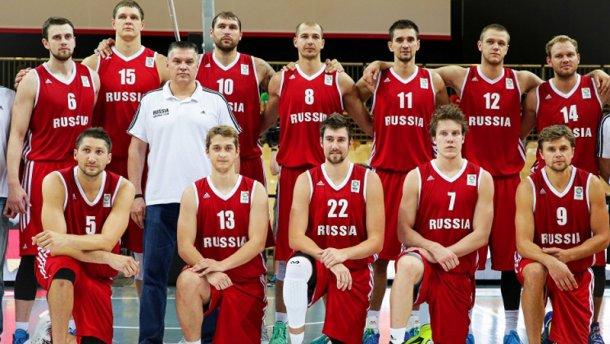 Російські збірні з баскетболу відсторонили від міжнародних змагань