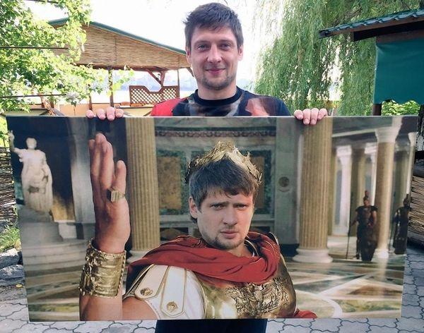"""Селезньов розповів, хто подарував йому картину """"Пшонка-стайл"""" (ФОТО)"""