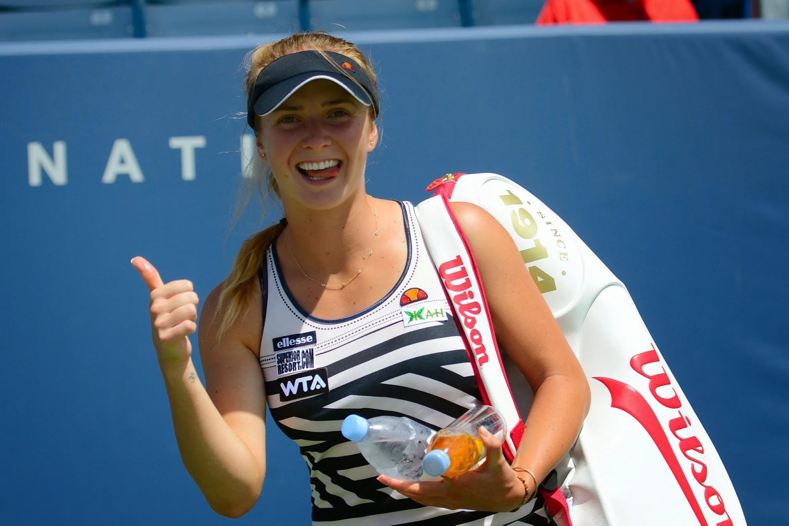 Элина Свитолина вышла в четвертьфинал теннисного турнира в Стэнфорде