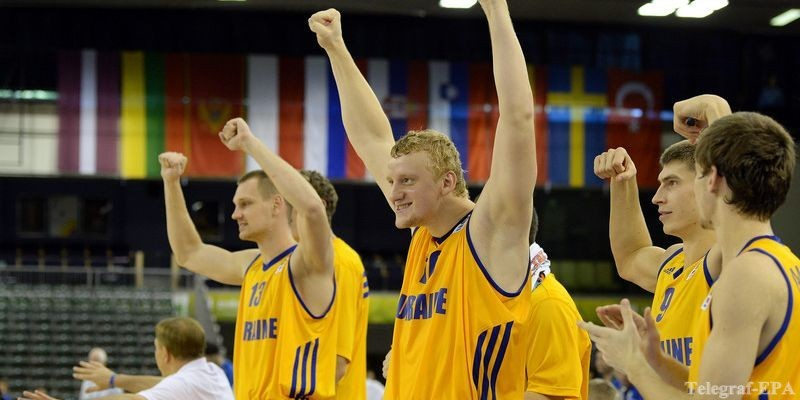 Букмекери оцінили шанси збірної України на Євробаскеті-2015