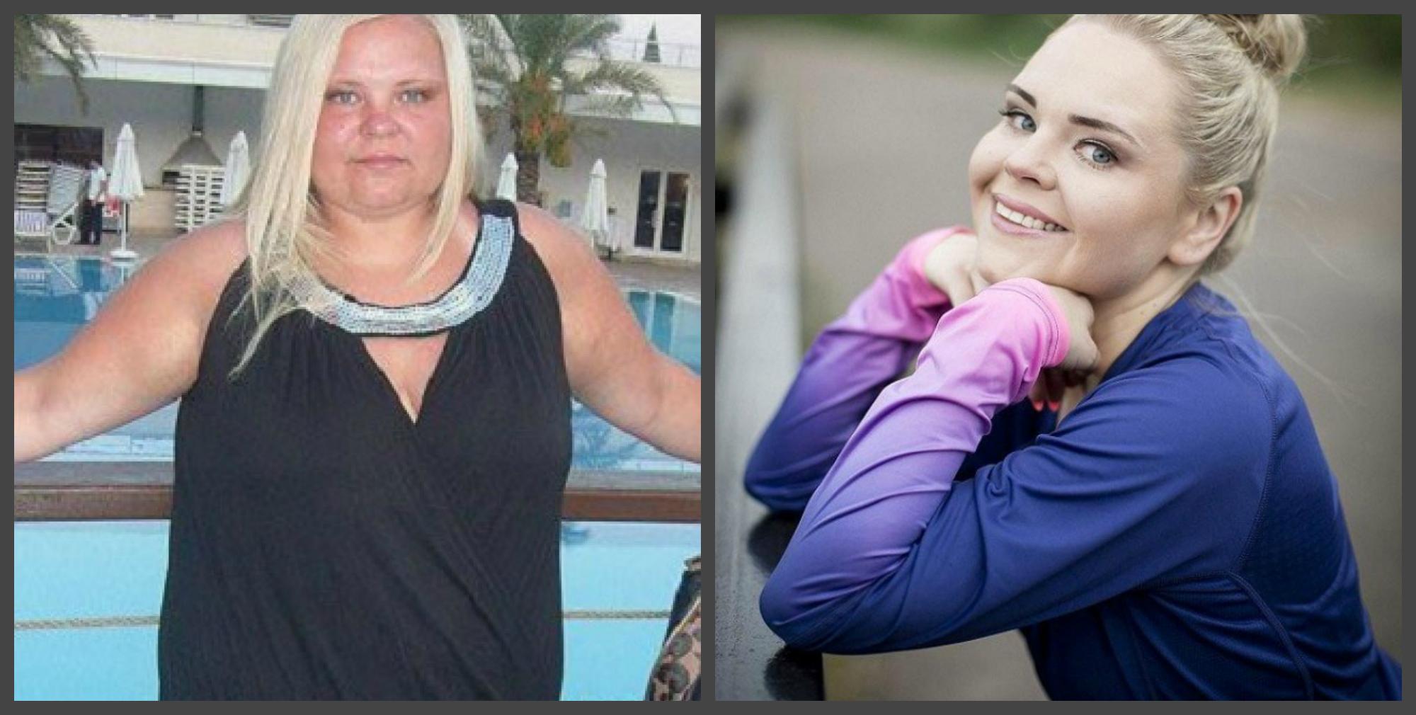 Ця дівчина схудла на 57 кг. А справа в незвичайному подарунку чоловіка … (ФОТО)