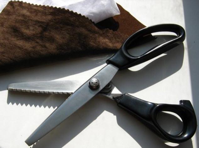 Як швидко наточити ножиці