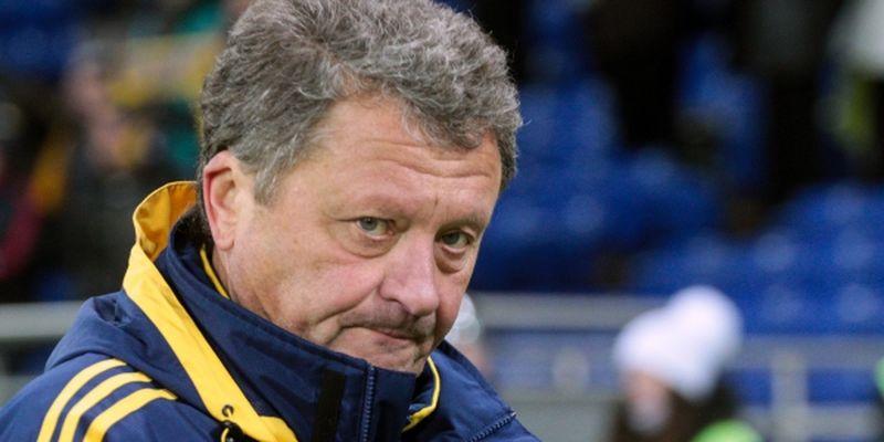 Маркевич: Я б теж не викликав до збірної гравців з чемпіонату Росії