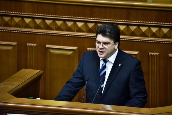 Міністр молоді та спорту заробив 99 тисяч гривень