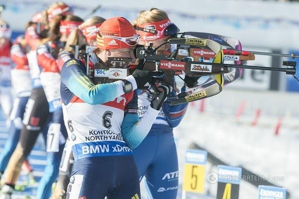 Украине пришлось поменять состав на женскую эстафету чемпионата мира по биатлону