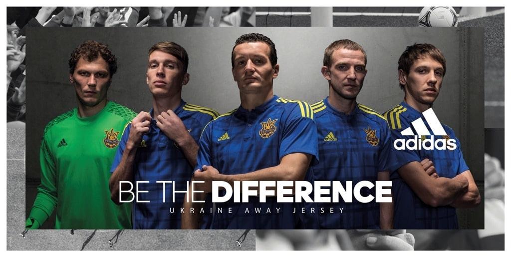 Сборная Украины представила форму для Евро-2016