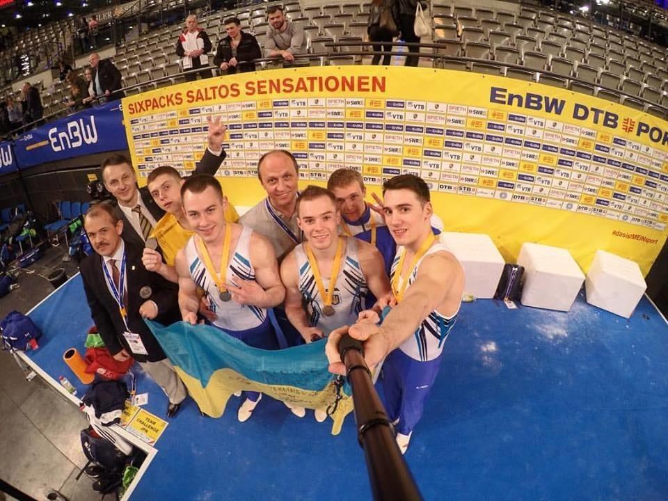 Українські гімнасти здобули срібну медаль на Кубку світу в Німеччині