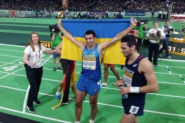 """Украинец выиграл """"серебро"""" чемпионата мира по легкой атлетике"""