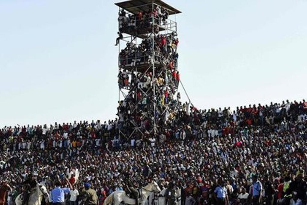 В Африці 16-тисячний стадіон вмістив у 2,5 рази більше фанатів
