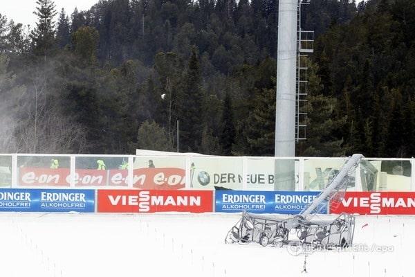 В России отменены последние гонки Кубка мира по биатлону