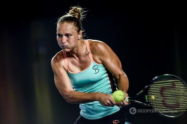 Украинская теннисистка сенсационно обыграла россиянку на супертурнире в США