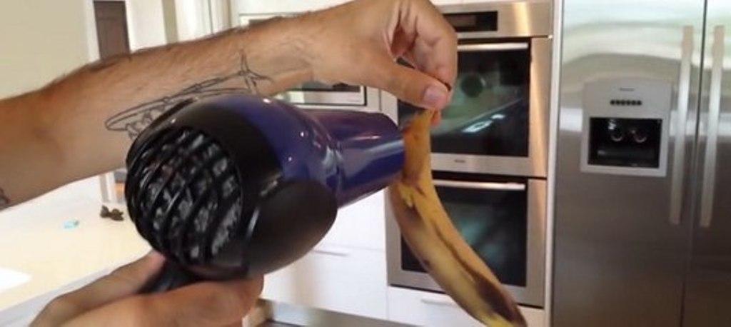 Теперь тебе не придется выбрасывать почерневшие бананы. Гениальный лайфхак!