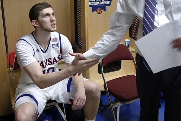 Украинский баскетболист Михайлюк добыл очередную победу в чемпионате NCAA
