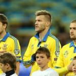 Збірна України залишилася на 22 місці в рейтингу ФІФА