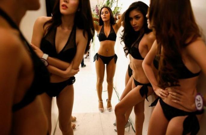 Конкурс краси в Таїланді: моделі з таємницею (ФОТО)