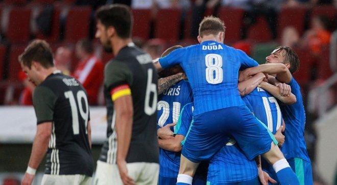 Збірна Німеччини програла словакам у товариському матчі
