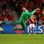 Воротар збірної Бельгії закликав Вільмотса звільнитися після поразки від Уельсу