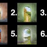 Виберіть двері і дізнайтеся дещо цікаве про себе і своє майбутнє