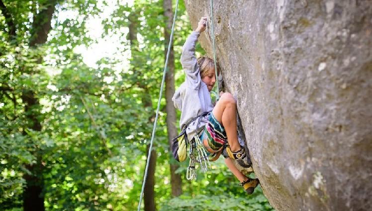 Український 11 – річний скелелаз встановив новий рекорд