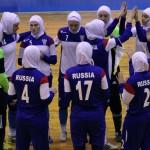 Жіноча збірна Росії з футзалу грає в хіджабах (ФОТО)