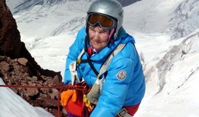 Українська пенсіонерка зібралася підкорити Еверест