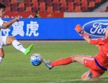 Жіноча збірна з футболу України програла Таїланду