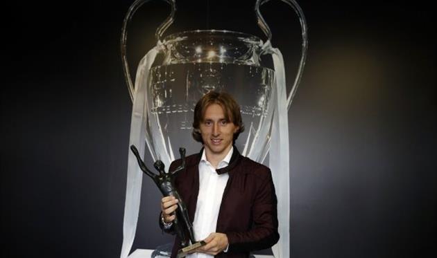 Модрича вп'яте визнали найкращим футболістом Хорватії
