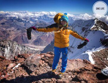Нічого собі! Українка піднялась на найвищу вершину Південної Америки