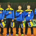 Збірна України опустилася на 10 позицій у рейтингу Кубка Девіса