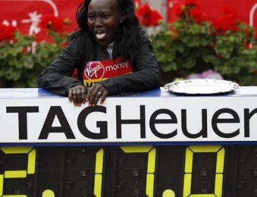 Кенійка Мері Кейтані встановила новий світовий рекорд у марафоні