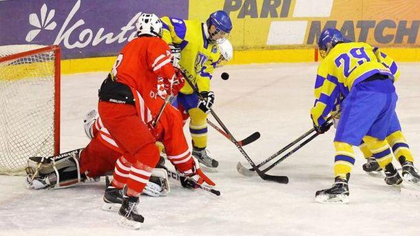 Юніорська збірна України програла Японії на чемпіонаті світу з хокею