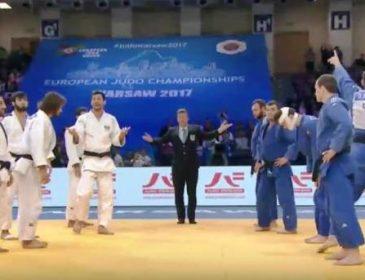 У скандальному протистоянні збірна України перемогла Азербайджан на чемпіонаті Європи з дзюдо