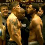 Усик – Хантер: Боксери пройшли процедуру зважування