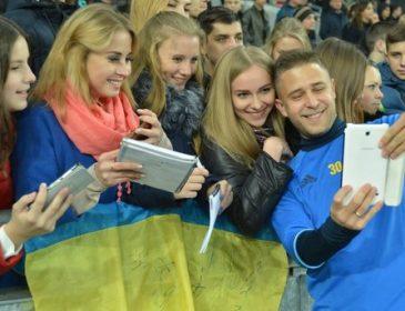 Збірна України проведе традиційне відкрите тренування для вболівальників