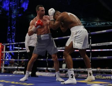 Кличко – Джошуа: Найбільш рейтингова спортивна подія року в Україні