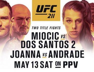UFC211: розклад боїв і трансляцій бійцівського шоу