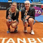 Тенісистка Надія Кіченок виграла турнір у Стамбулі в парі