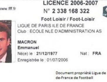 Новий президент Франції був професійним футболістом