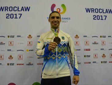 Львівський каратист Станіслав Горуна здобув золоту медаль Х Всесвітніх Ігор-2017