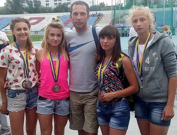 Львів'янки на Чемпіонаті України-2017 з легкої атлетики здобули дві медалі в естафетах
