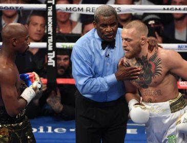 Макгрегор незадоволений роботою суддів в бою проти Мейвезера