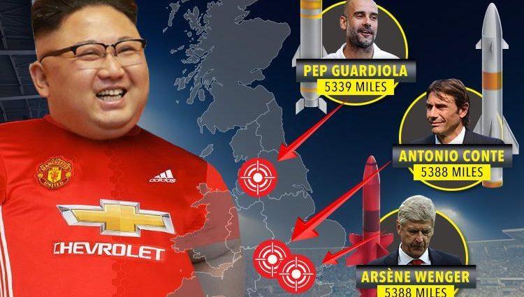 Північнокорейський диктатор виявився уболівальником топ-клубу Англії