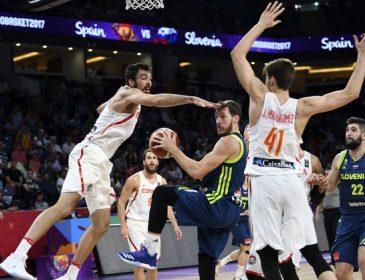 Словенія сенсаційно обіграла Іспанію в півфіналі Євробаскету-2017