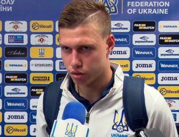 Кращим молодим футболістом місяця в Україні став Микола Матвієнко